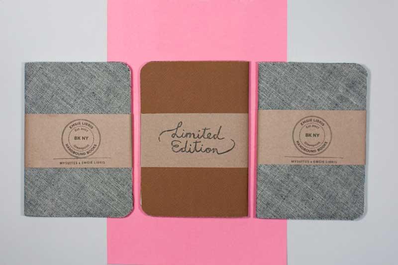 MySuites&Co x Emgie Libris Notebooks
