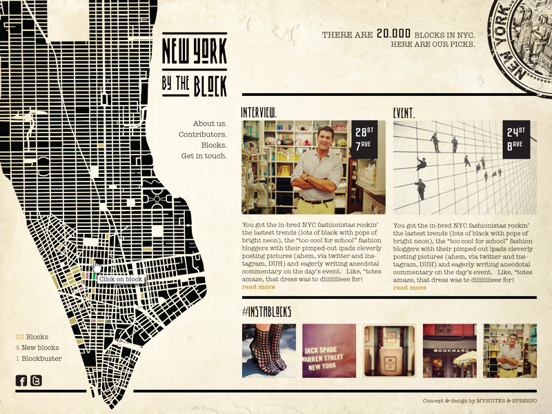 NYC by the Block by MySuites&Co and Spresso Design