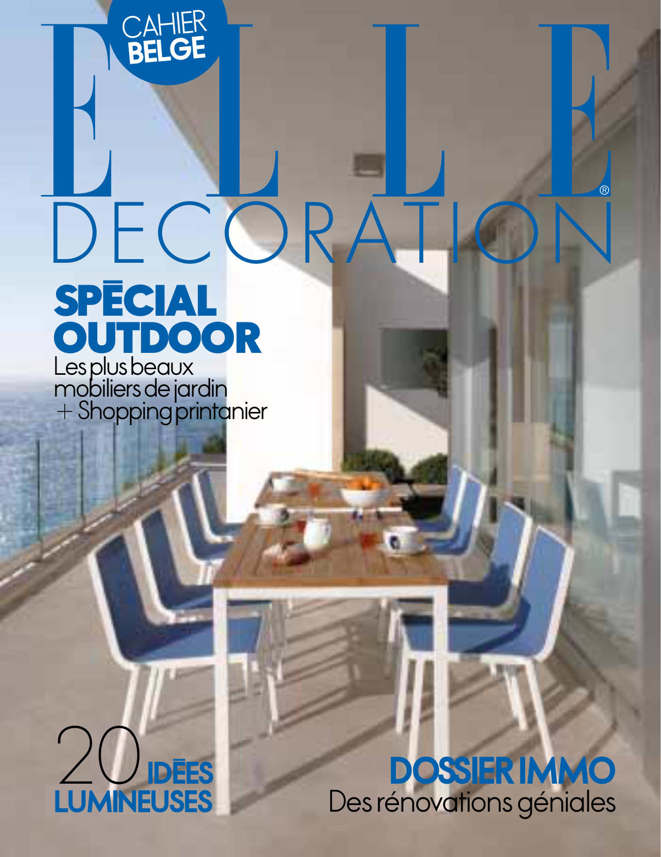 Mysuites co in elle decor magazine may 2014 for Elle deco magazine