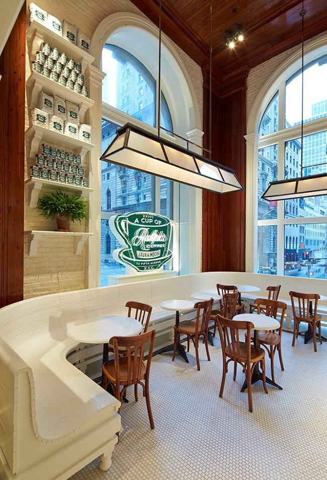 Besides Tasty Coffee And Baked Goods, It Also Serves As A Fun Exercise In Interior  Design And Branding In The Form Of Ralph Laurenu0027s First Cafe.