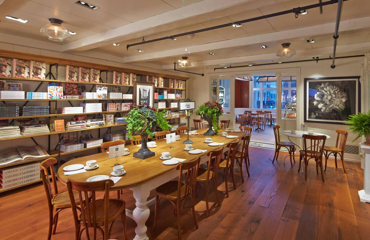 ralph s coffee nyc designer cafe by ralph lauren