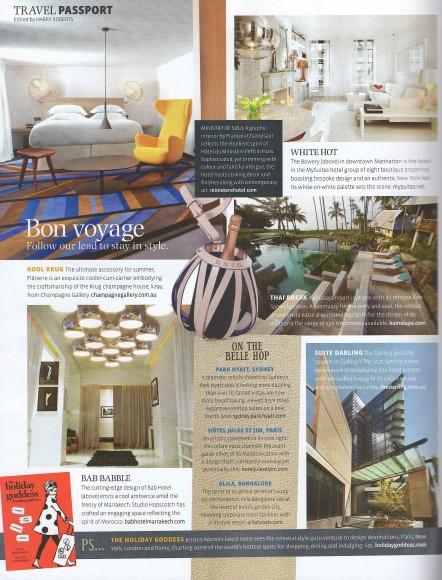 MySuites&Co in Belle Magazine - Interior Design and Decor