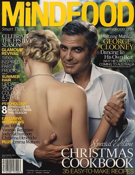 Mindfood - December 2011 - Cover